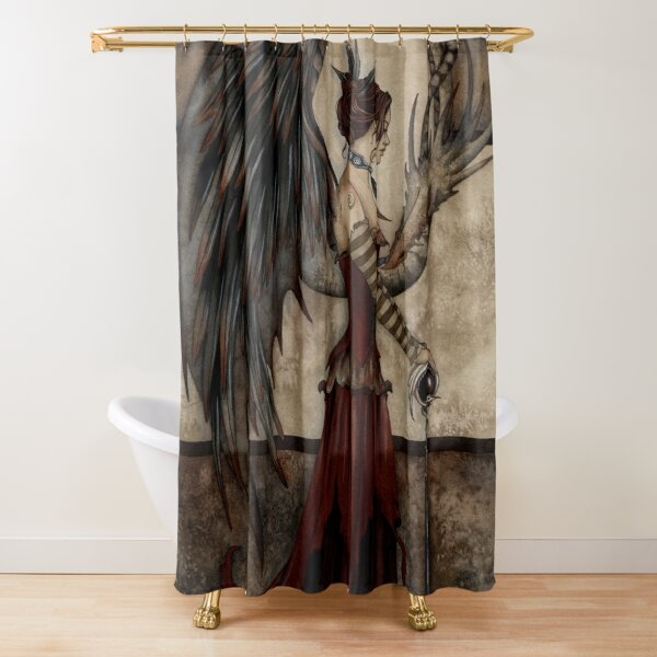 Court Of The Dragon Shower Curtain