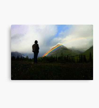 Out of the Storm: An Unexpected Allegory Canvas Print