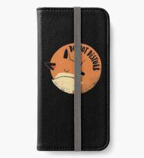 Do Not Disturb iPhone Wallet/Case/Skin