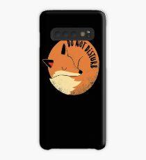 Do Not Disturb Case/Skin for Samsung Galaxy