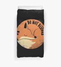 Do Not Disturb Duvet Cover
