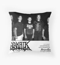 Arkaik with new Bassist Throw Pillow
