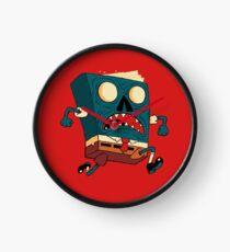 Spongebook Deadpants Clock