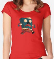 Spongebook Deadpants Fitted Scoop T-Shirt