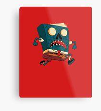 Spongebook Deadpants Metal Print