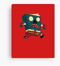 Spongebook Deadpants Canvas Print