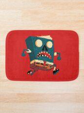 Spongebook Deadpants Bath Mat