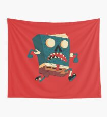 Spongebook Deadpants Wall Tapestry