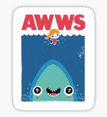 AWWS Sticker