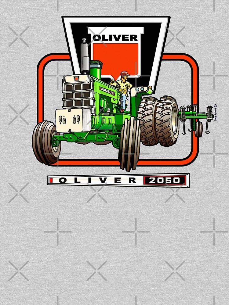 Oliver 2050 Tractor by tractor-doug