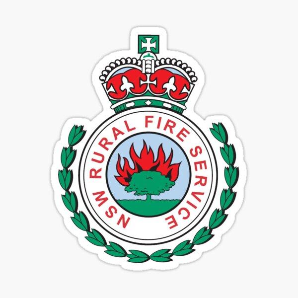 NSW Rural Fire Service Sticker