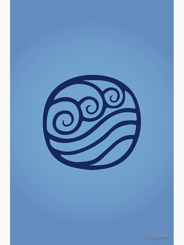 Waterbending Logo by Logogami