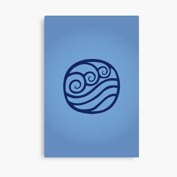 Waterbending Logo Canvas Print