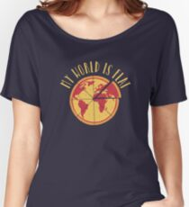 My World Is Flat Relaxed Fit T-Shirt
