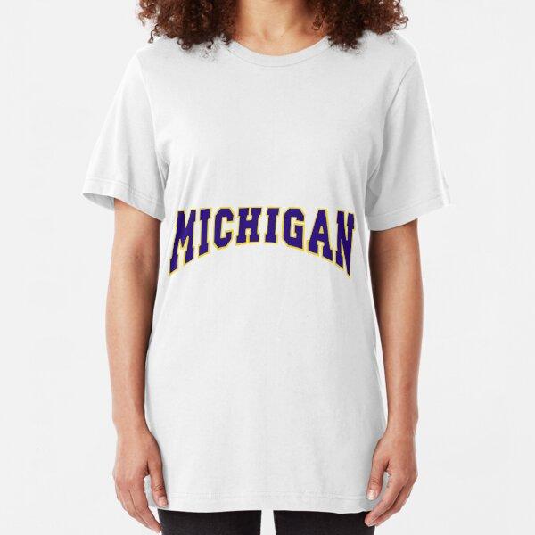 Michigan! Slim Fit T-Shirt