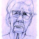 Pencil Sketch # 6 by Bill Marsh