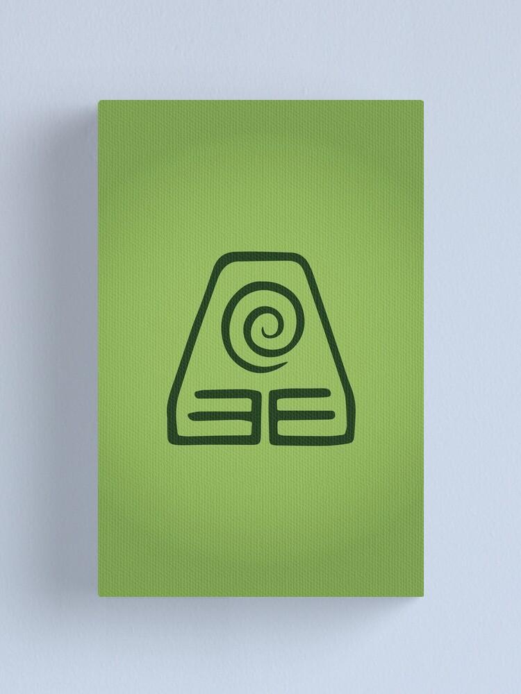 Alternate view of Earthbending Logo Canvas Print