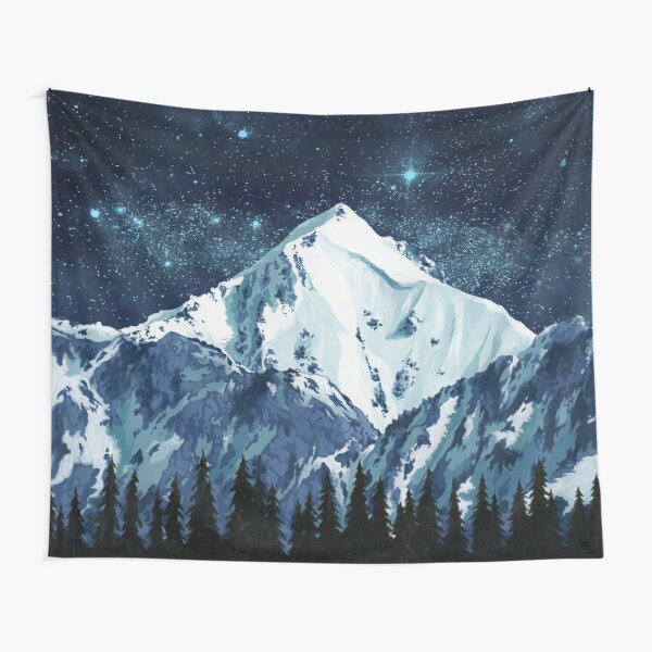 Alaska Night Sky 1 Tapestry