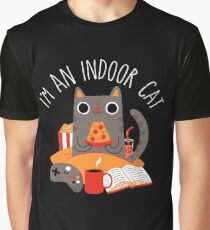 Indoor Cat Graphic T-Shirt