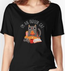 Indoor Cat Relaxed Fit T-Shirt