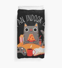 Indoor Cat Duvet Cover