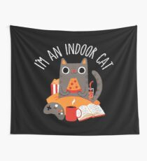 Indoor Cat Wall Tapestry