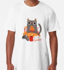 Indoor Cat Long T-Shirt