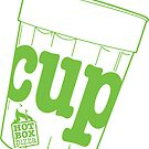 HotBox Cup-Lime Green by HotBoxPizza