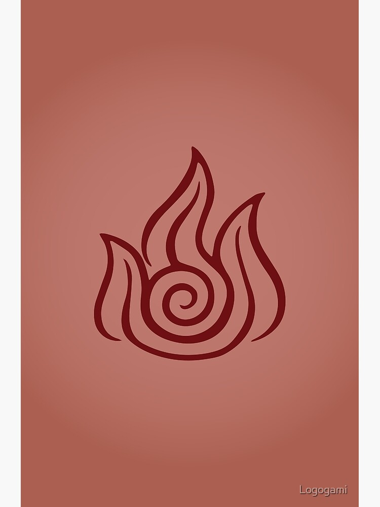Firebending Logo by Logogami
