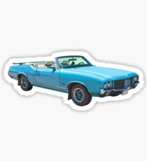 Oldsmobile Cutlass Supreme Muscle Car Sticker