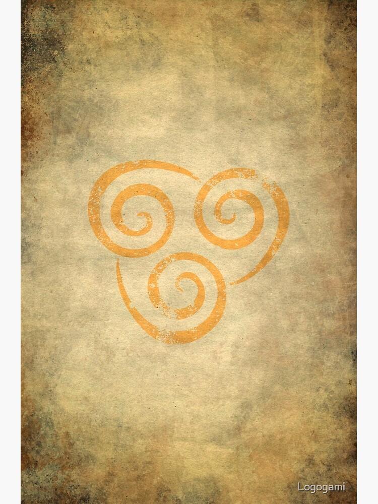 Airbending Logo · Distressed by Logogami
