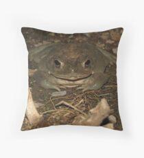Sonoran Desert Toad (a.k.a Colorado River Toad) Throw Pillow