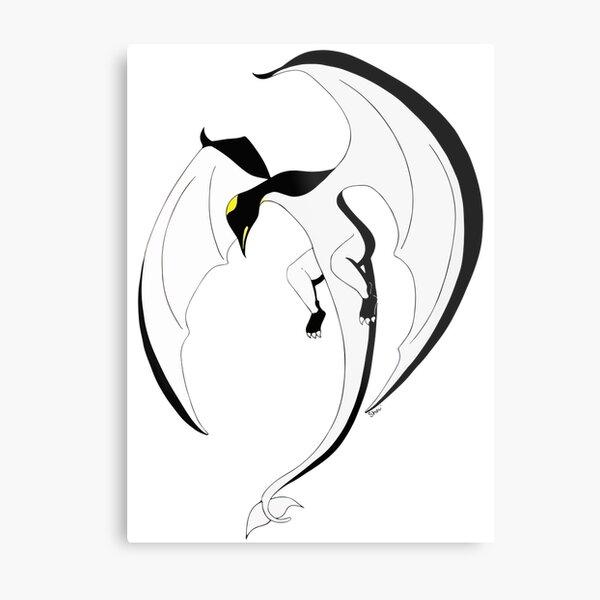 The Penguin-Dragon (Second evolution) Metal Print