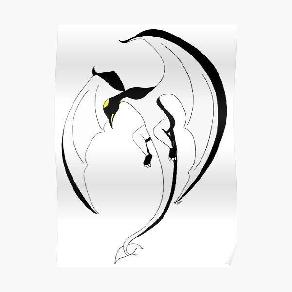 The Penguin-Dragon (Second evolution) Poster