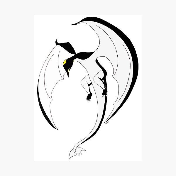 The Penguin-Dragon (Second evolution) Photographic Print