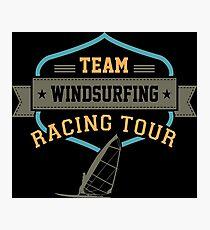 Team Windsurfing Racing Tour Photographic Print