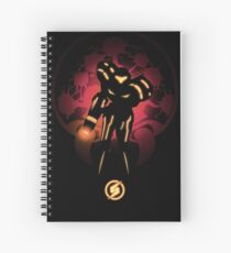 Metroid Spiral Notebook