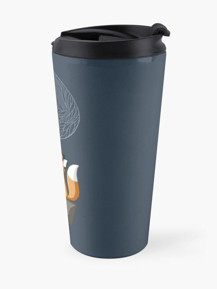 Alternate view of Fox Tea Travel Mug