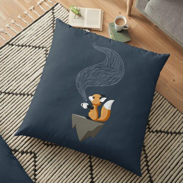 Fox Tea Floor Pillow