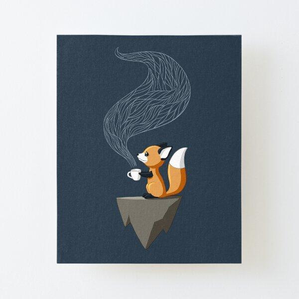 Fox Tea Canvas Mounted Print