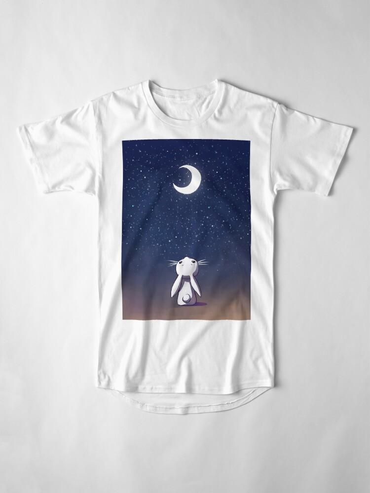 Alternative Ansicht von Mondhase Longshirt