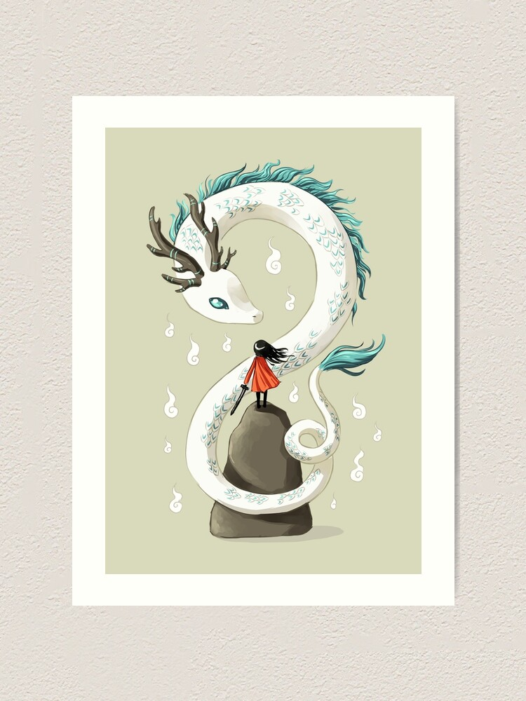 Alternate view of Dragon Spirit Art Print