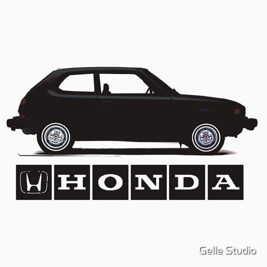 TShirtGifter presents: Classic Honda