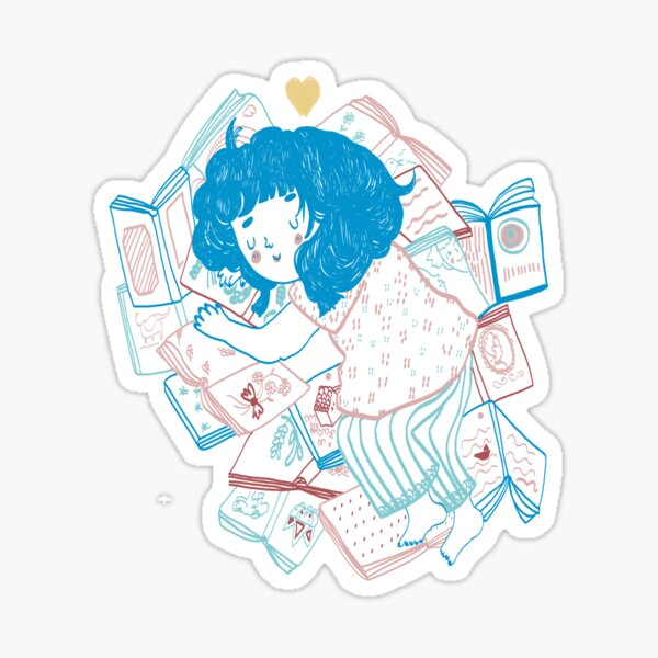Books lover Sticker
