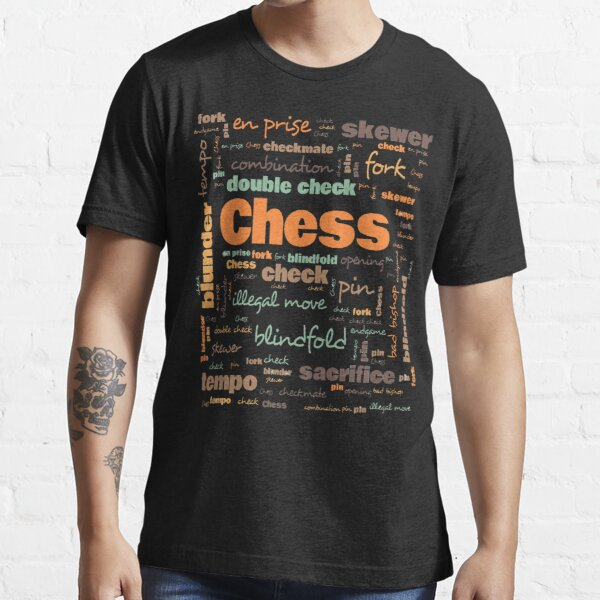 Chess Terminology Commonly Used Chess Terms  Essential T-Shirt