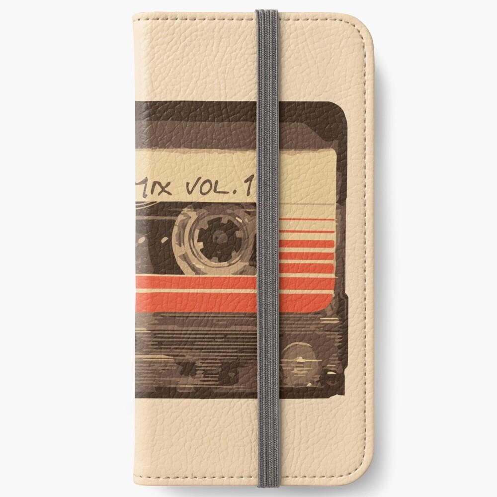 Galaktischer Soundtrack iPhone Flip-Case