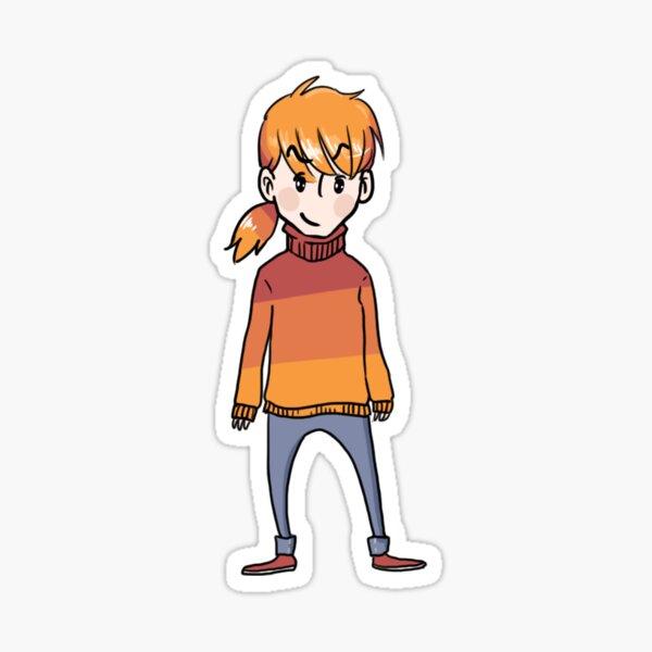 JavaScript D3 character Sticker