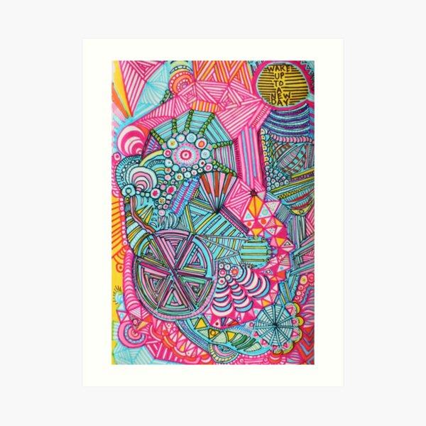 WIDE AWAKE - LARGE FORMAT  Art Print