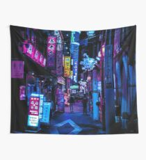 Blade Runner Vibes Wall Tapestry