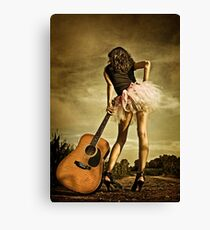 The Long Road To Nashville Canvas Print